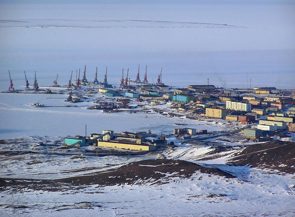 Морской порт Тикси